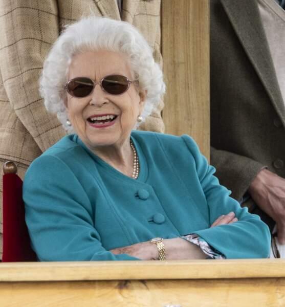 Il semblerait qu'Elizabeth s'y rend tous les ans.