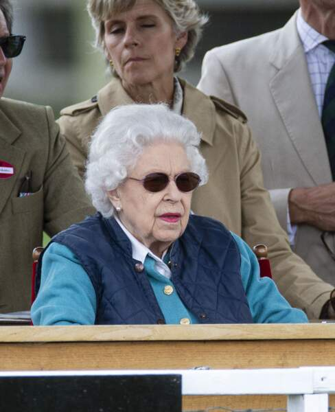 Elizabeth II participe au Royal Windsor Horse Show.
