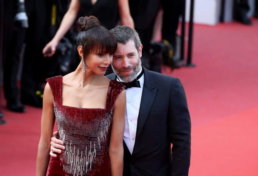 Jalil Lespert et Sonia Rolland au Festival de Cannes en 2016.