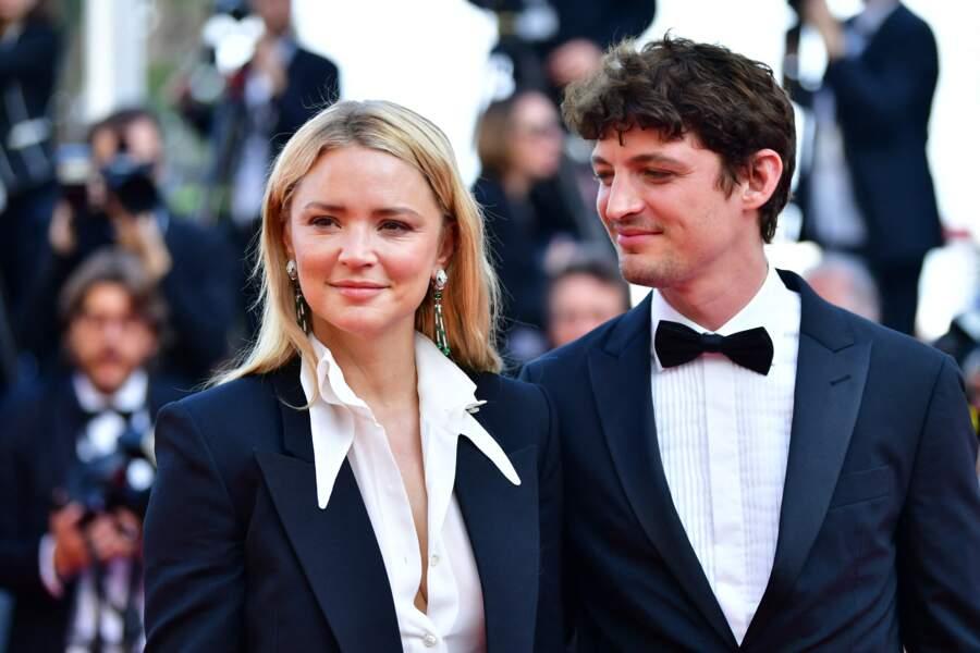 Virginie Efira et Niels Schneider au Festival de Cannes en 2019.
