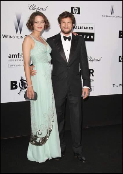 Marion Cotillard et Guillaume Canet au Festival de Cannes en 2009.