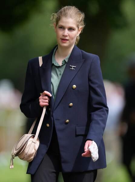 Ce 3 juillet, Lady Louise a opté pour un look très féminin au Royal Windsor Horse Show.