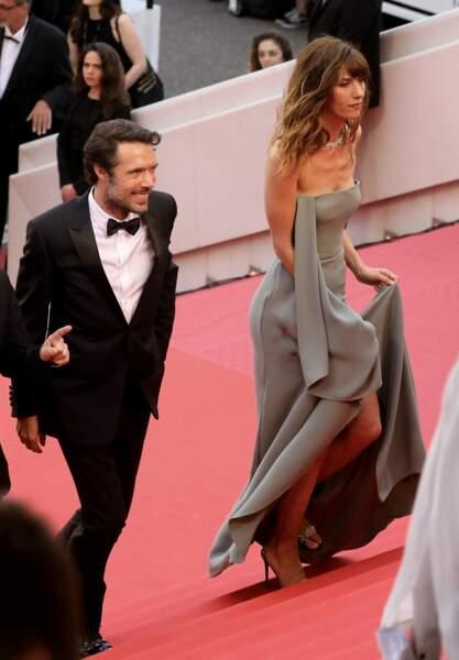 Dora Tillier et Nicolas Bedos au Festival de Cannes en 2019.