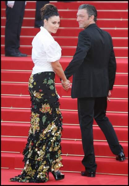 Monica Bellucci et Vincent Cassel au Festival de Cannes en 2006.