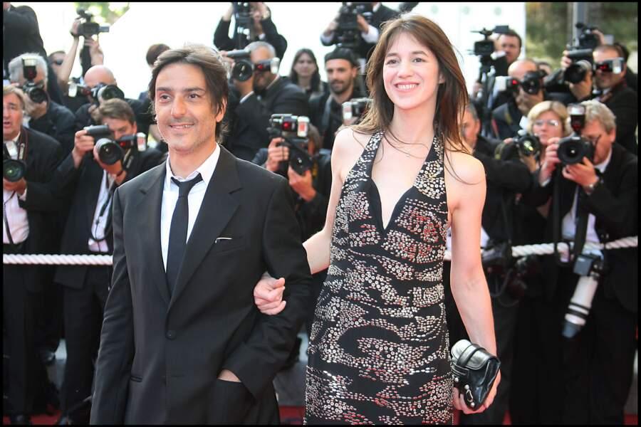 Charlotte Gainsbourg et Yvan Attal au Festival de Cannes en 2009.
