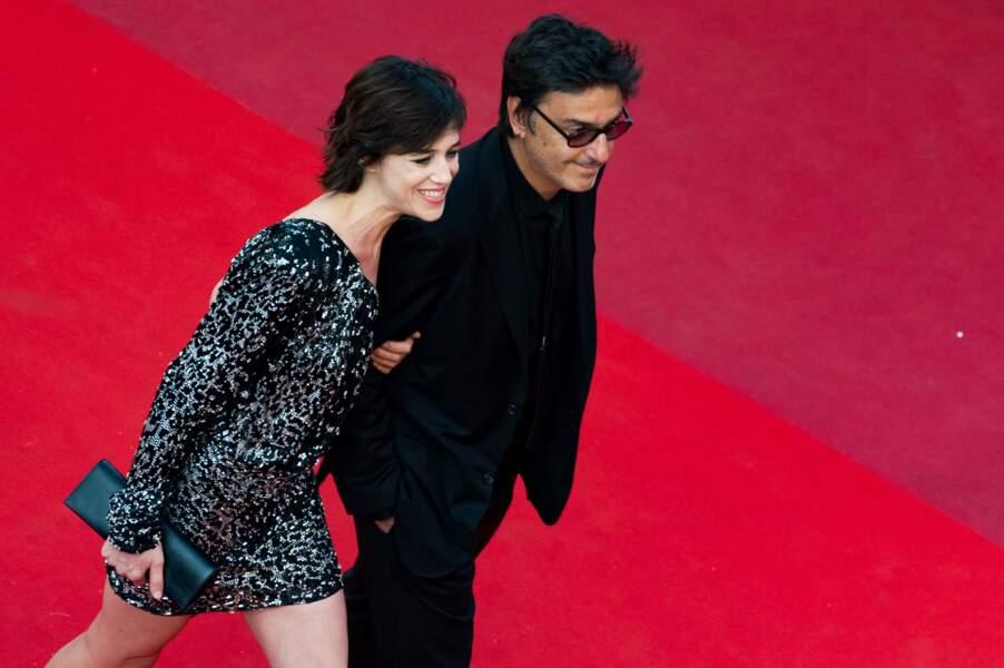 Charlotte Gainsbourg et Yvan Attal au Festival de Cannes en 2017.