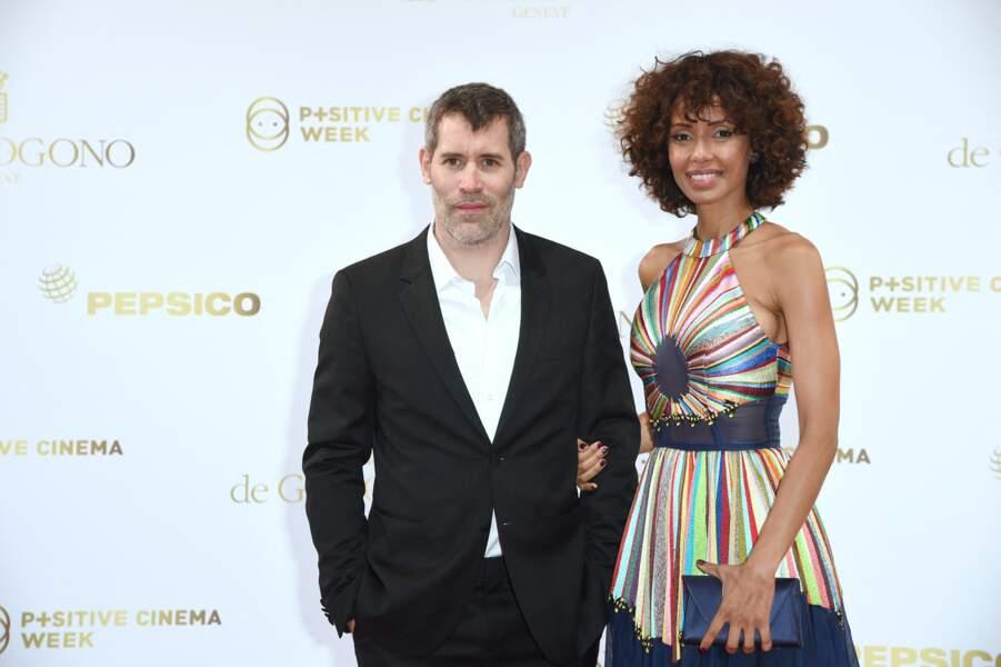 Jalil Lespert et Sonia Rolland au Festival de Cannes en 2018.