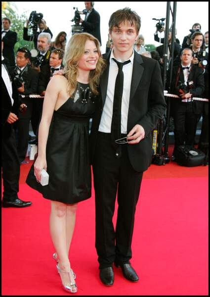 Mélanie Thierry et Raphaël au Festival de Cannes en 2007.