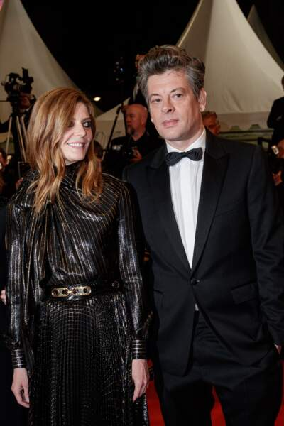 Chiara Mastroianni et Benjamin Biolay au Festival de Cannes en 2019.