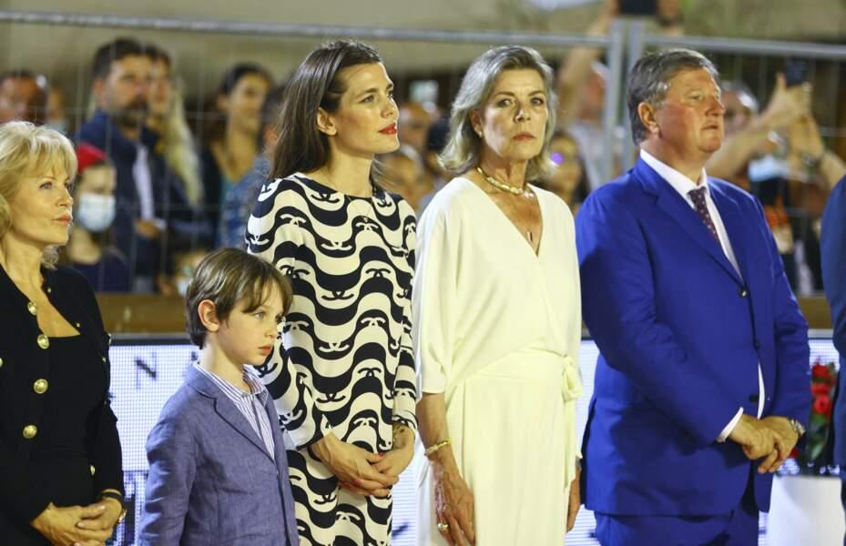 Un moment en famille très remarqué ce samedi 3 juillet, à Monaco.