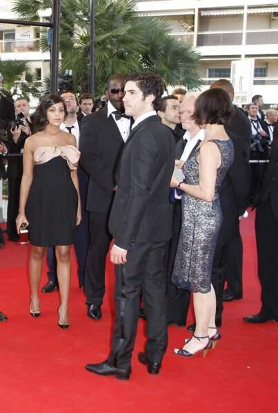 Tahar Rahim et Leïla Bekhti au Festival de Cannes en 2009.