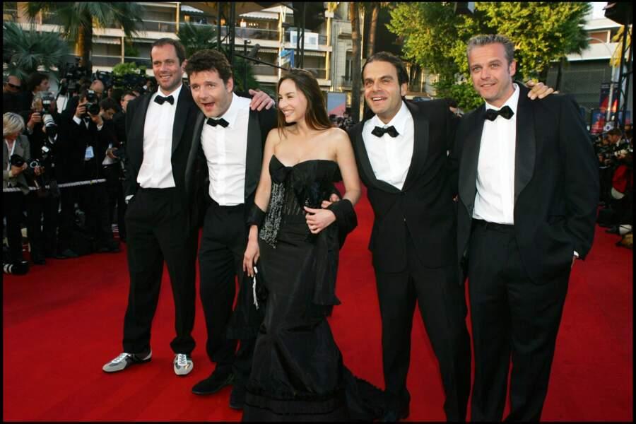 Vanessa Demouy et Philippe Lellouche au Festival de Cannes en 2005.