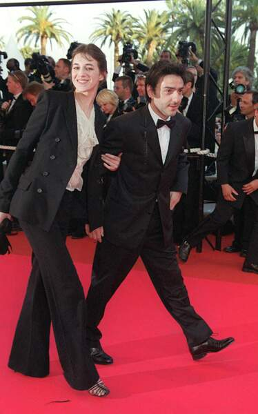 Charlotte Gainsbourg et Yvan Attal en 2001.