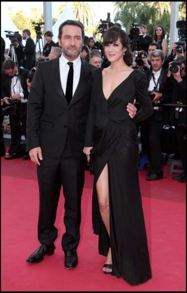 Mélanie Doutey et Gilles Lellouche au Festival de Cannes en 2011.
