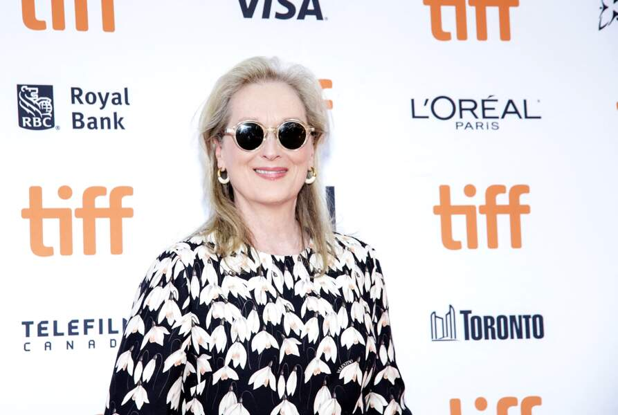 """Meryl Streep à la première du film """"The Laundromat"""" pendant le festival international du film de Toronto (TIFF), le 9 septembre 2019."""