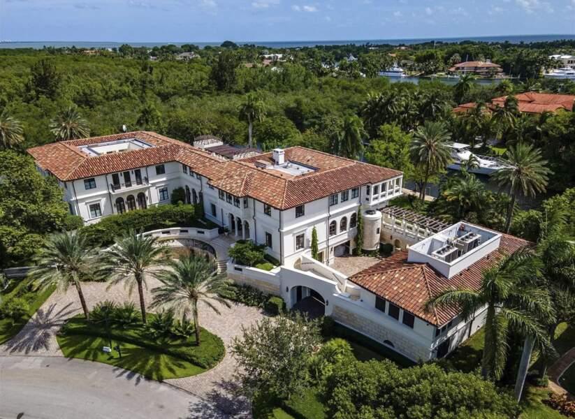 Vue du ciel de l'ex-villa de Marc Anthony