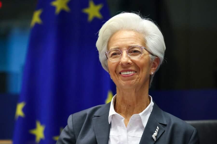 Christine Lagarde assiste au dialogue monétaire de la commission des affaires économiques et monétaires au Parlement européen à Bruxelles, le 2 décembre 2019.