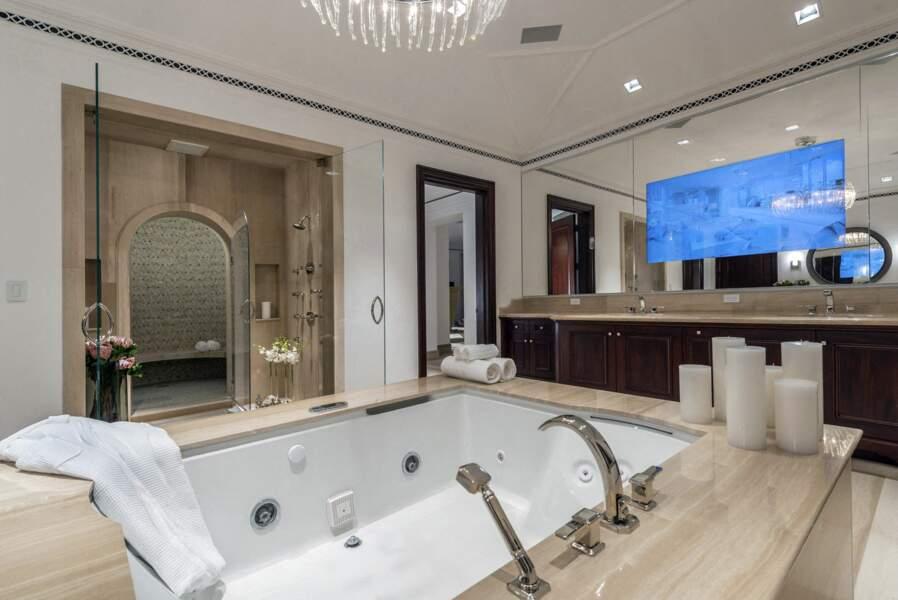 La salle de bain connectée