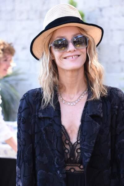 Vanessa Paradis en 2016 : habillée en Chanel
