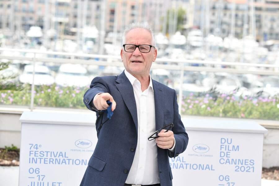 Thierry Fremaux, délégué général du festival de Cannes, le 6 juillet 2021.