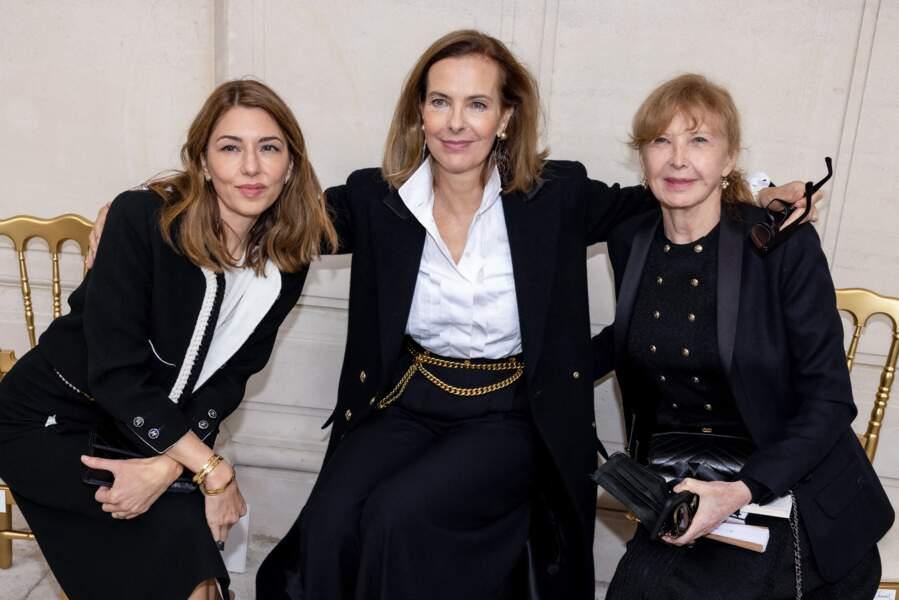 Sofia Coppola , Carole Bouquet et Aurore Clément complices chez Chanel