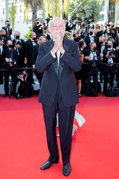 """Nicolas Seydoux pour la montée des marches du film """"Annette"""" lors de la cérémonie d'ouverture du 74ème Festival International du Film de Cannes, le 6 juillet 2021"""