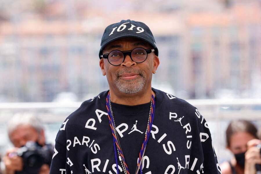 Spike Lee (Président du jury) au photocall du 74ème festival international du film de Cannes, le 6 juillet 2021
