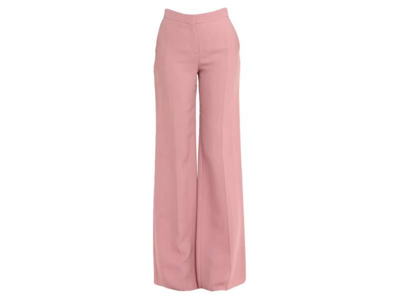 Pantalon rose, 288€ au lieu de 450€, Valentino