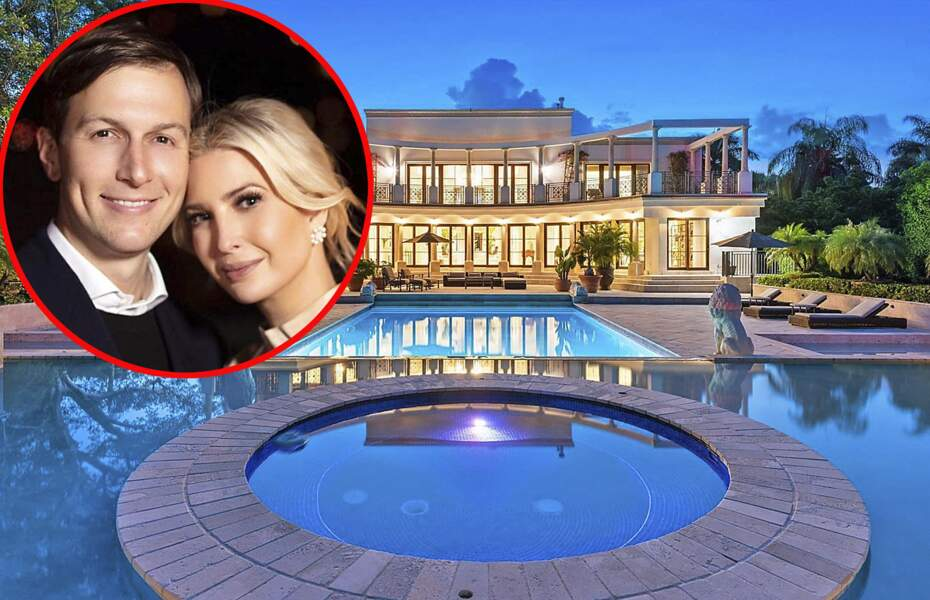 Ivanka Trump et son mari Jared Kushner ont fait l'acquisition d'un somptueux manoir à Miami