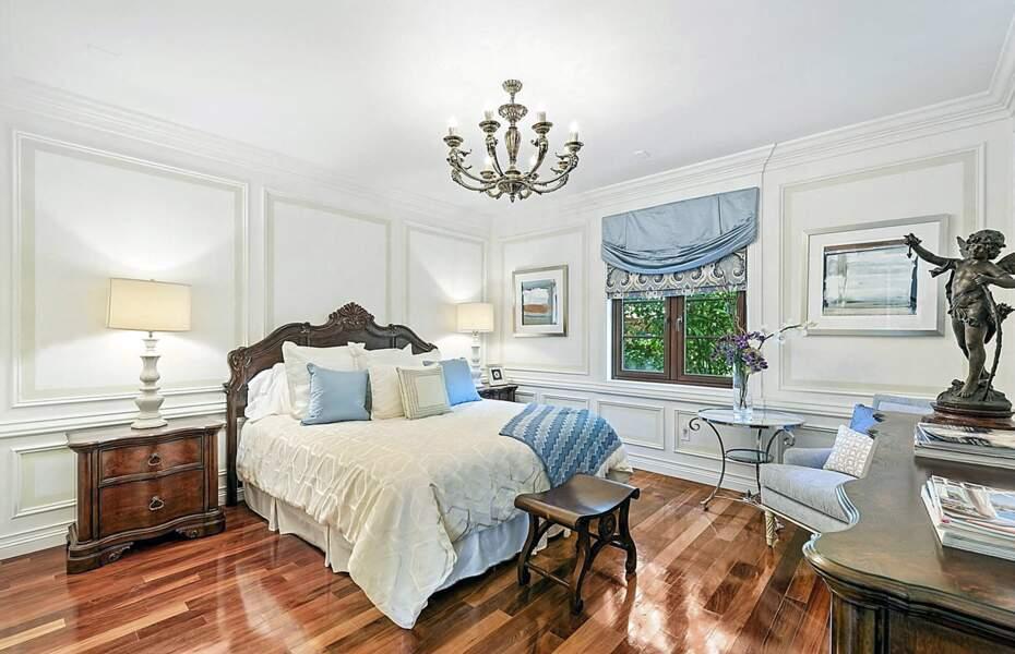 L'une des six premières chambres de la demeure achetée par Ivanka Trump et son mari Jared Kushner