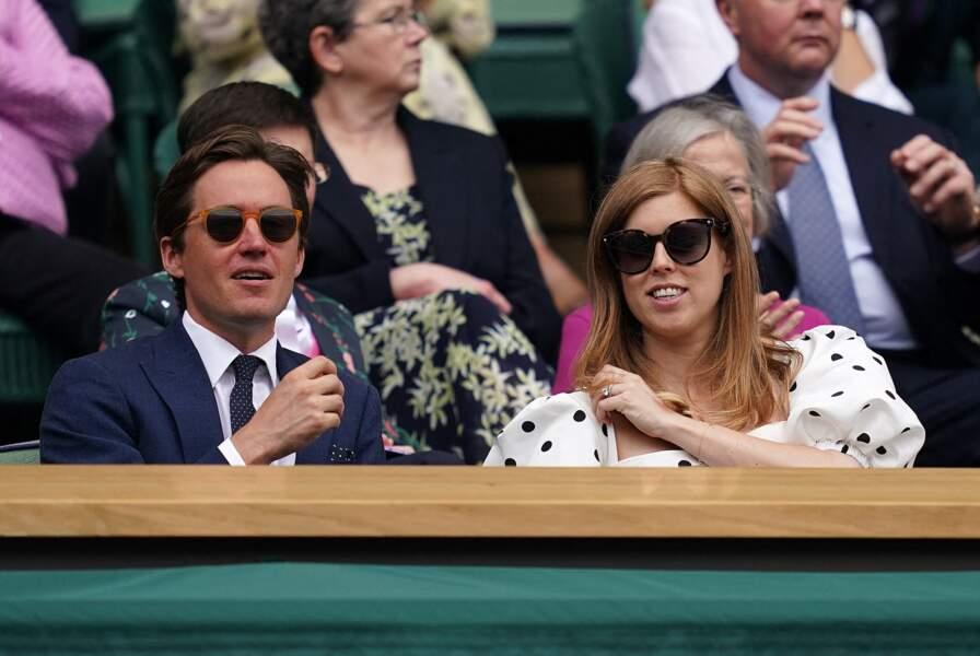 La princesse Beatrice d'York affichait son ventre rond dans les gradins de Wimbledon, le 8 juillet 2021