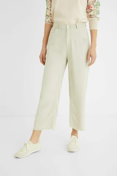 Jupe culotte cropped 100% Lyocell, 69,97€ au lieu de 99,95€, Desigual