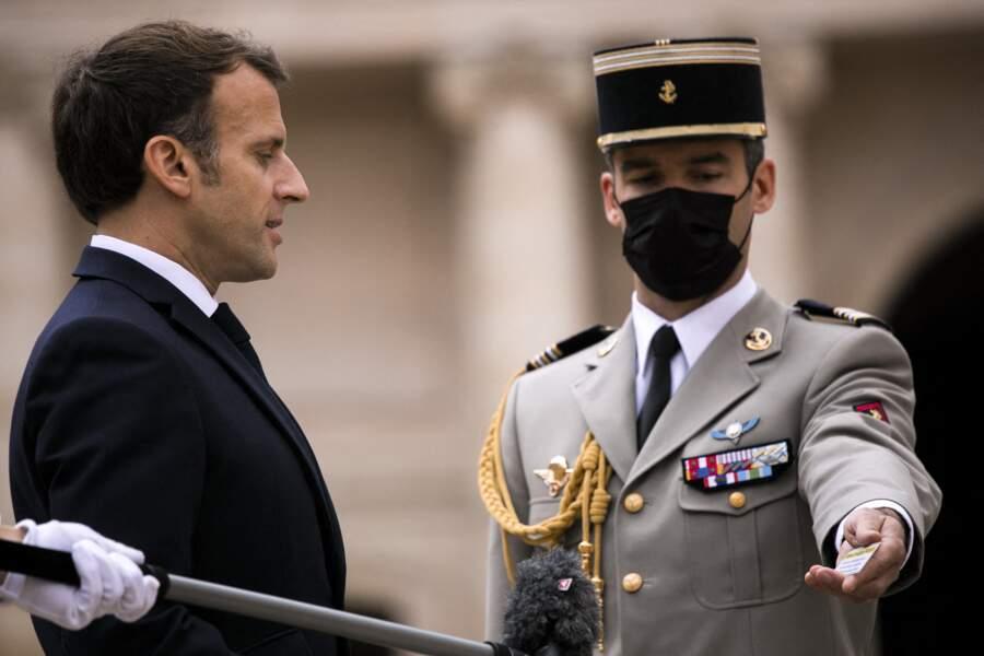 Le président de la République française Emmanuel Macron, à Paris, ce 8 juillet 2021