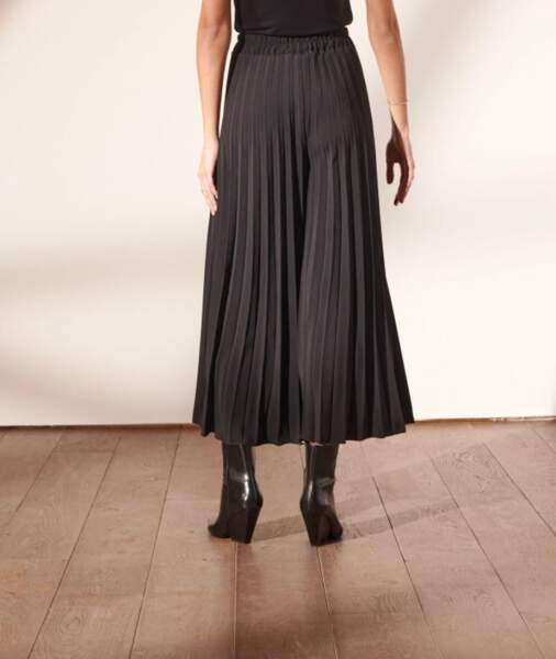 Pantalon large plissé, 26,99€ au lieu de 44,99€, Etam