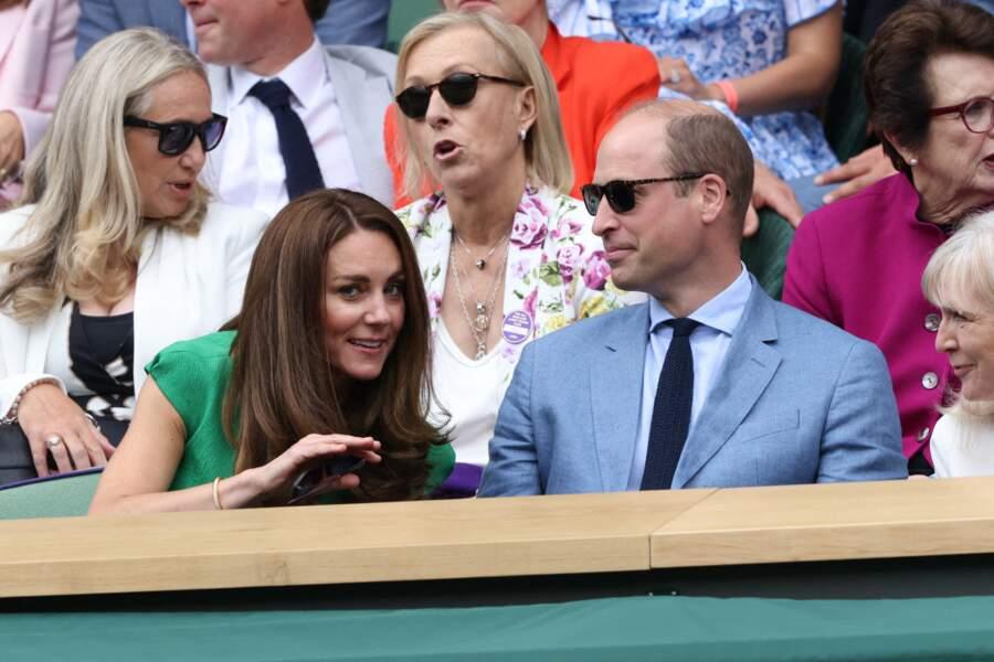 La duchesse de Cambridge est de retour à ses engagements ce samedi 10 juillet pour la finale à Wimbledon.