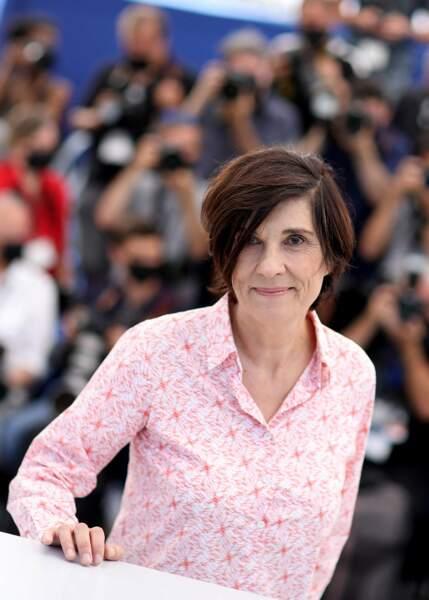 Catherine Corsini au photocall du film La fracture