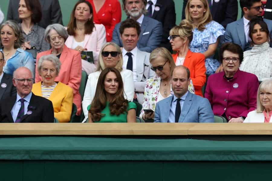 Cette sortie à la finale féminine de Wimbledon est la première de Kate Middleton après son isolement pour avoir été en contact avec une personne positive au Covid-19.