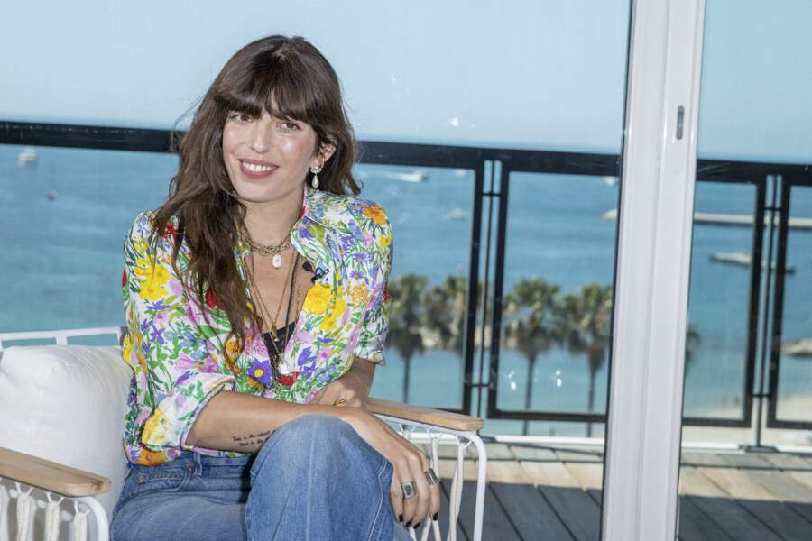 Lou Doillon à l'hôtel Majestic en marge du 74ème festival du film de Cannes