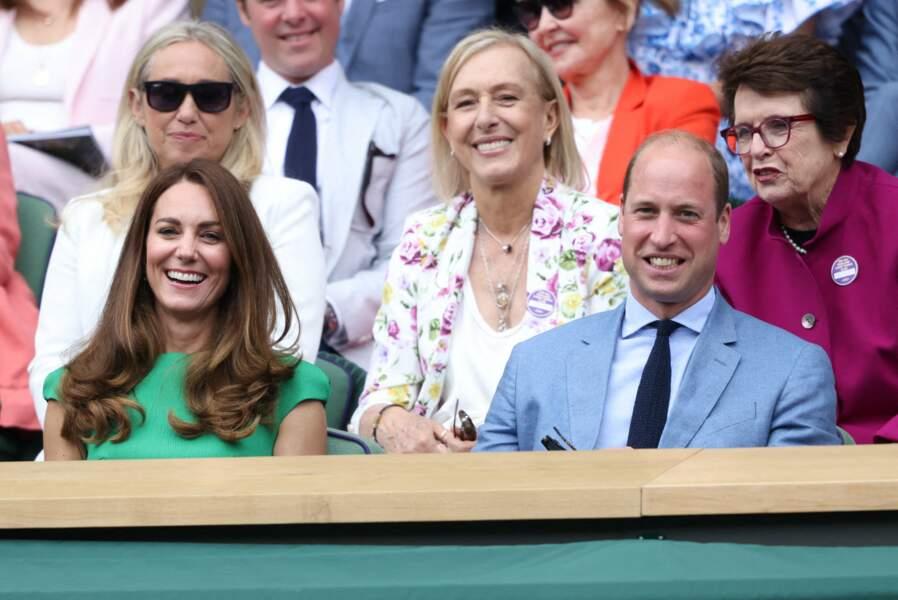 Kate Middleton et le prince William ont profité de lors sortie à la finale à Wimbledon, ce samedi 10 juillet.