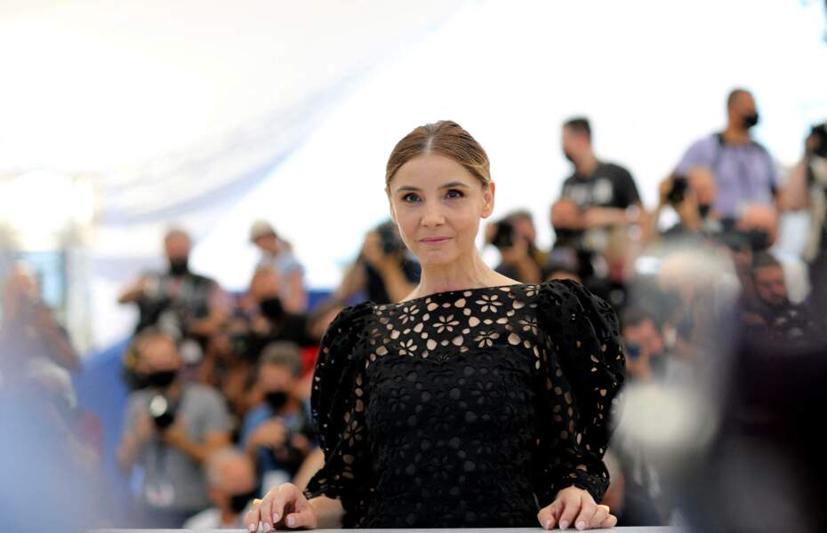 Clotilde Courau au photocall du film Benedetta, ce samedi 10 juillet