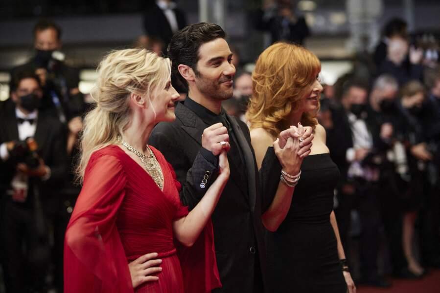 Le trio de jury est apparus très soudé lors du photocall de la 74e édition du Festival de Cannes ce 10 juillet