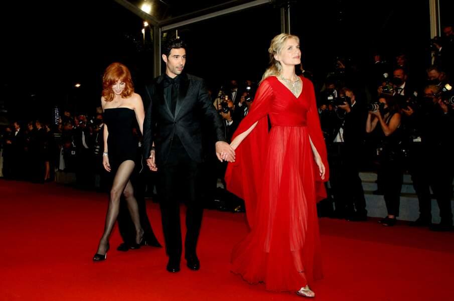 Mylène Farmer et Mélanie Laurent ont choisi des robes très glamour pour participer au Festival de Cannes ce 10 juillet