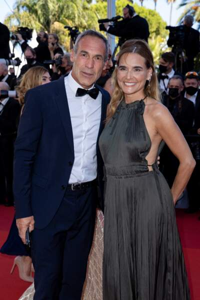 Mike Horn et sa compagne le 8 juillet à Cannes