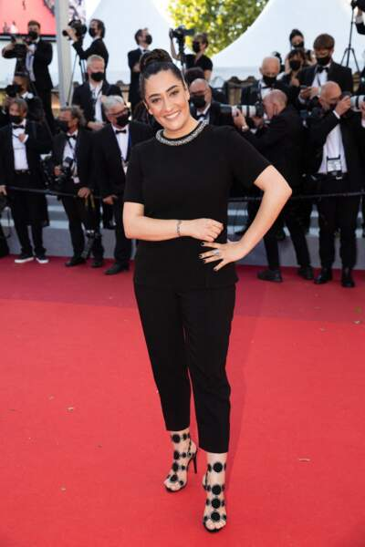 Victoria Sio a profité du film Aline pour monter les marches aux côtés de Valérie Lemercier.