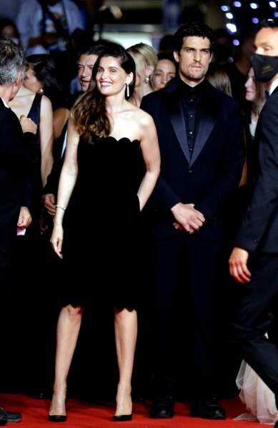 Laetitia Casta et Louis Garrel le 12 juillet à Cannes