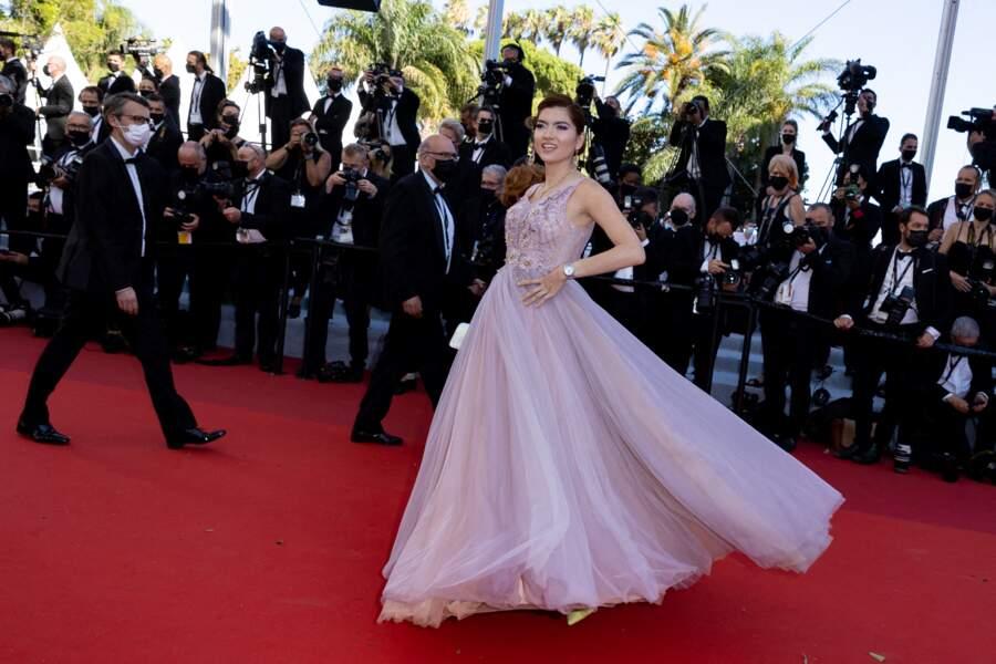 Blanca Blanco, habillée en Christophe Guillarmé, a attiré tous les regards.