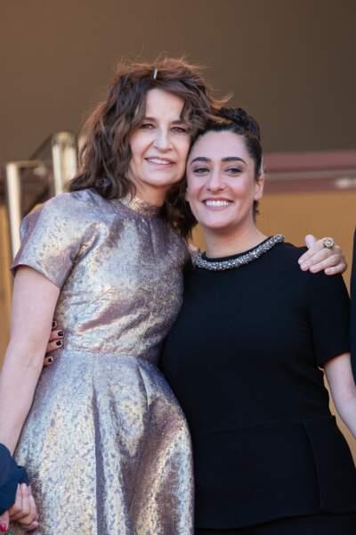 Valérie Lemercier et Victoria Sio ont noué une forte complicité pendant le tournage du film Aline.