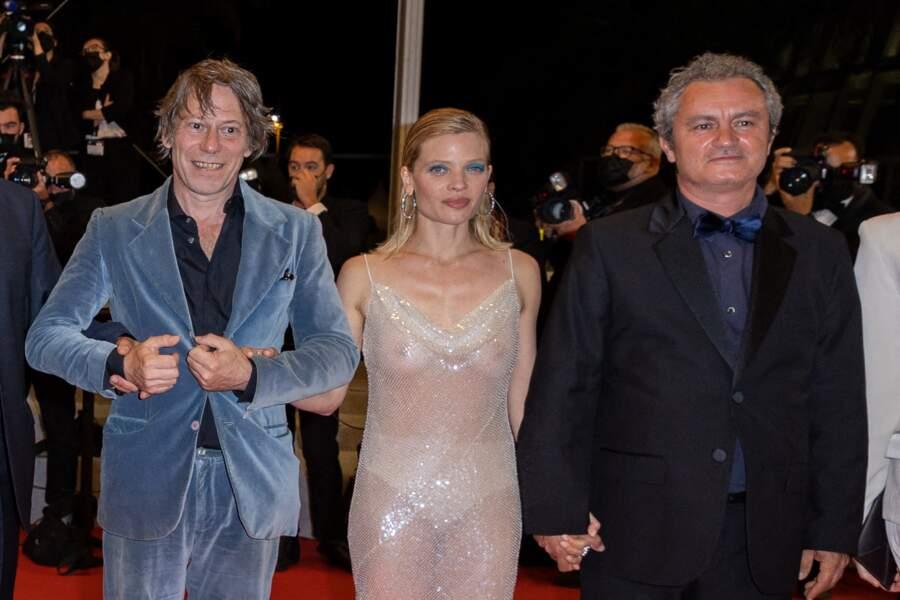 Mélanie Thierry, charmeuse, a posé pour les photogrpahes.