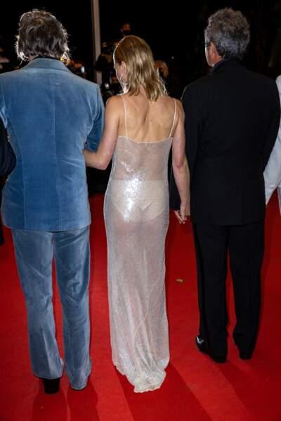 Mélanie Thierry, sublime naïade, n'a pas manqué d'attirer l'attention.