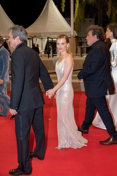 Mélanie Thierry a monté les marches du film « Tralala » d'Arnaud et Jean-Marie Larrieu.